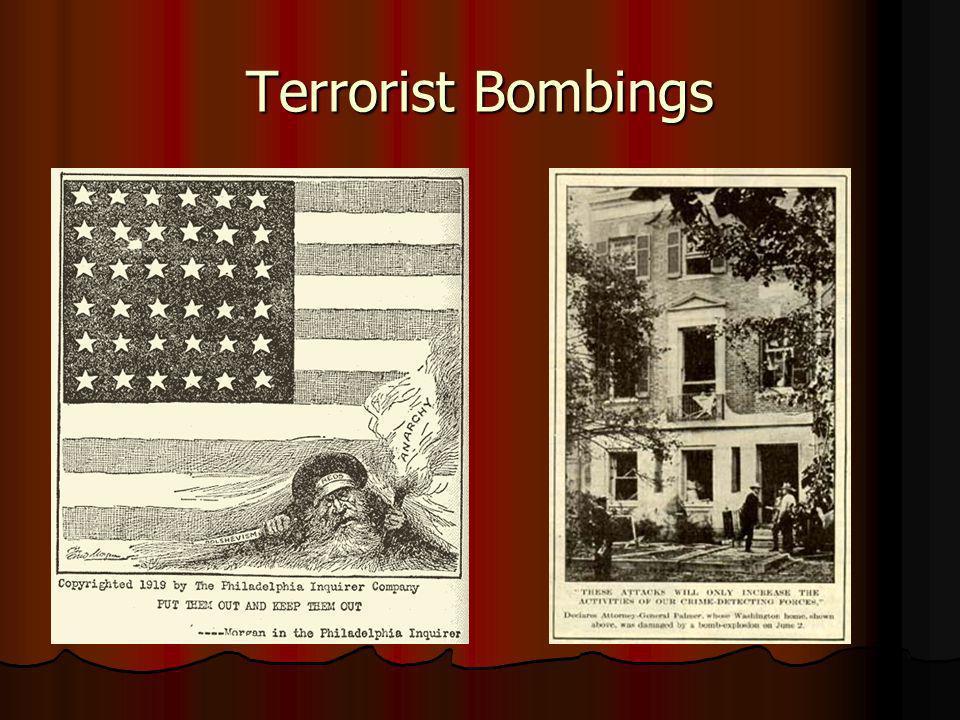 Terrorist Bombings