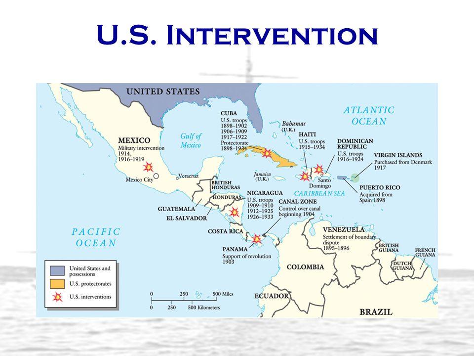 U.S. Intervention