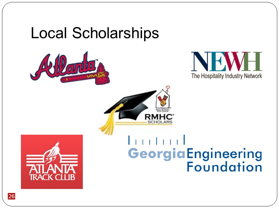 26 Local Scholarships