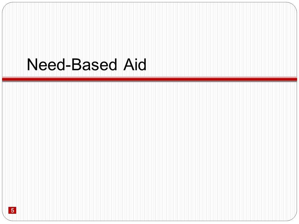 5 Need-Based Aid