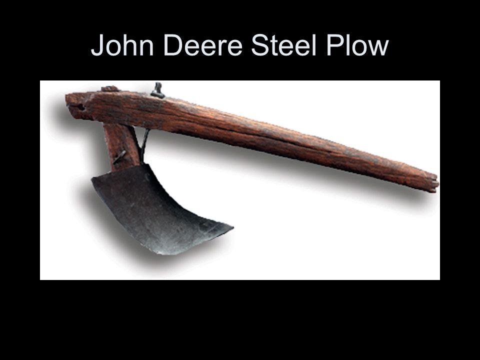 John Deere Steel Plow
