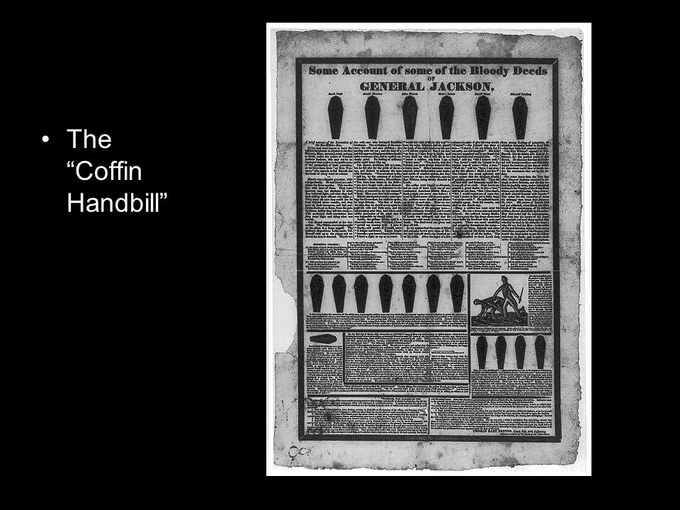 The Coffin Handbill
