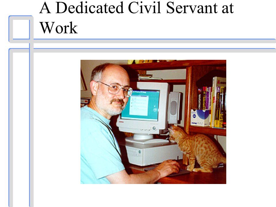 A Dedicated Civil Servant at Work