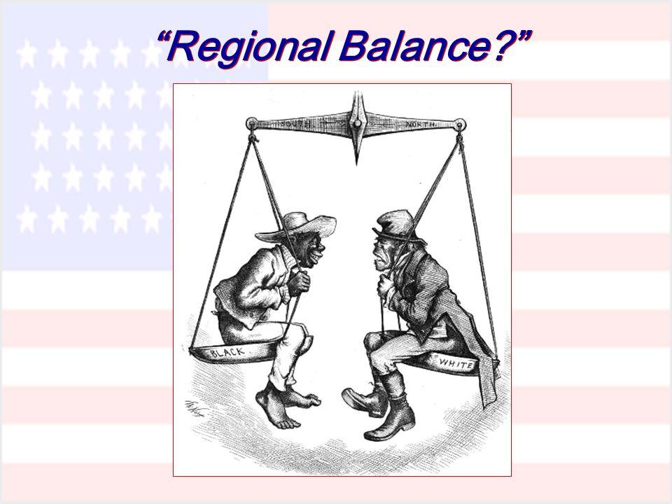 Regional Balance?