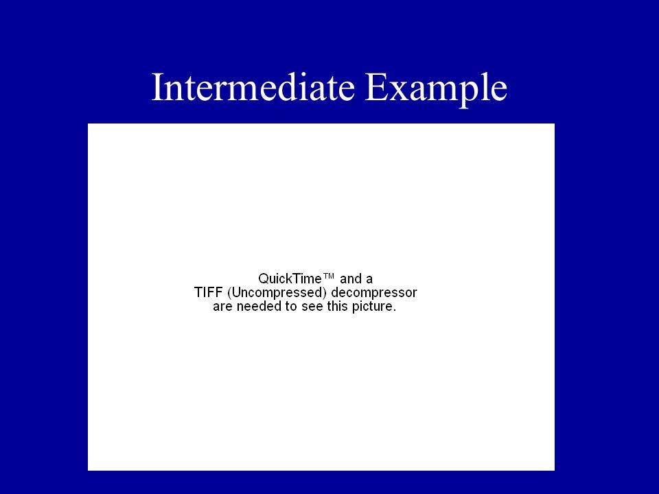 Intermediate Example