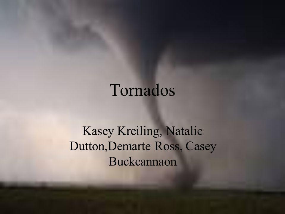 Tornados Kasey Kreiling, Natalie Dutton,Demarte Ross, Casey Buckcannaon