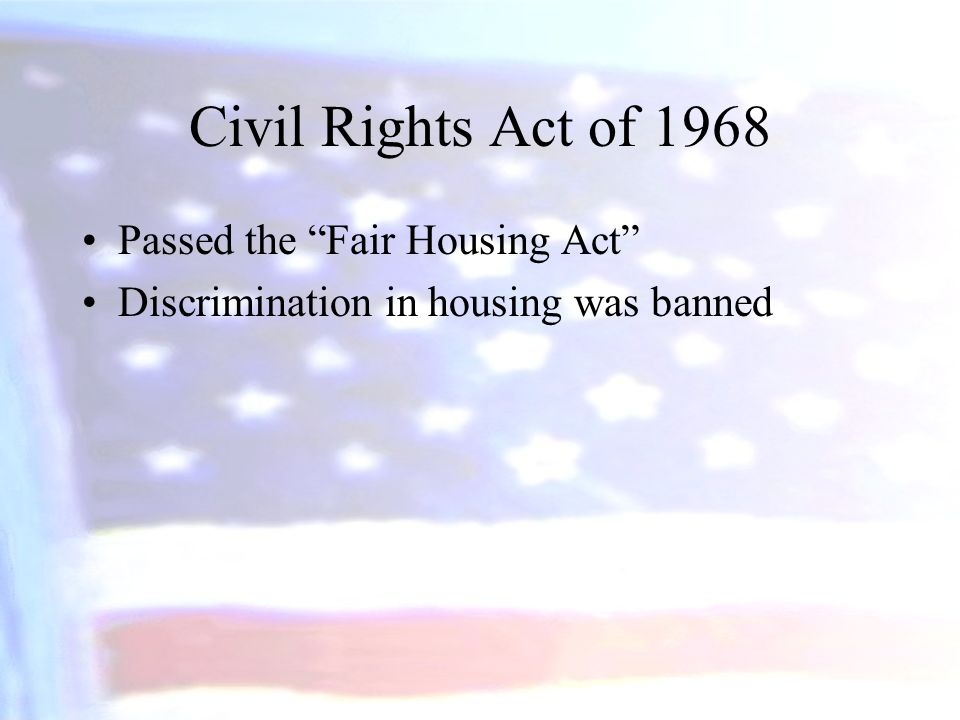 The Impact of the Civil Rights Act of 1964 Southerners argued that the Act violated the Constitution and was an unwarranted use of federal power.
