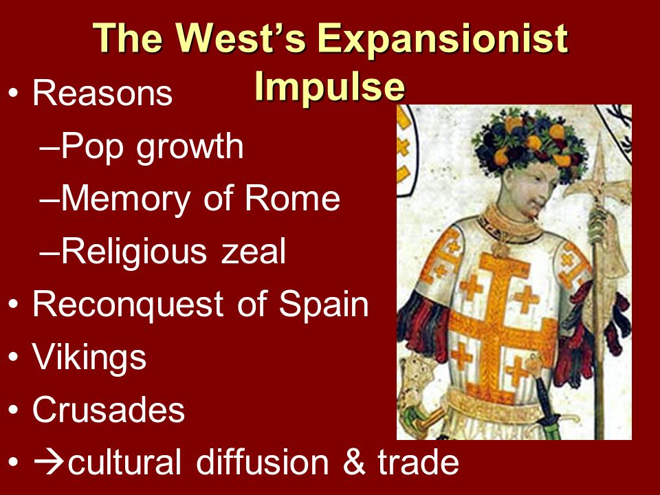 Western Civilization Christianity was unifying element Little classical thought before 1000 Crusades classical works Aristotle especially