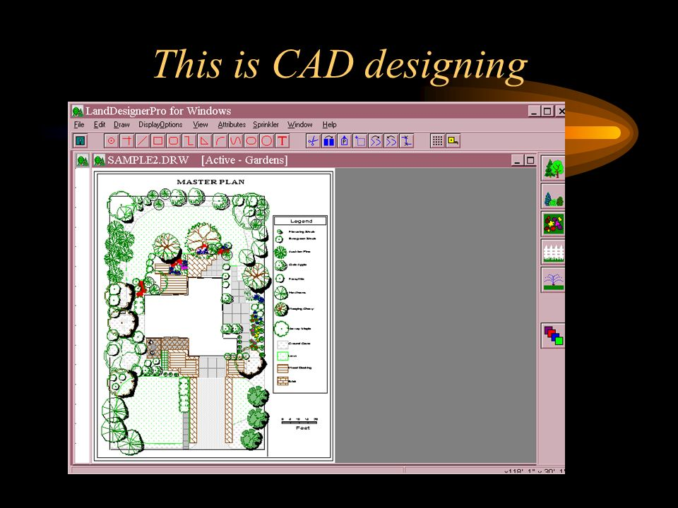 This is CAD designing
