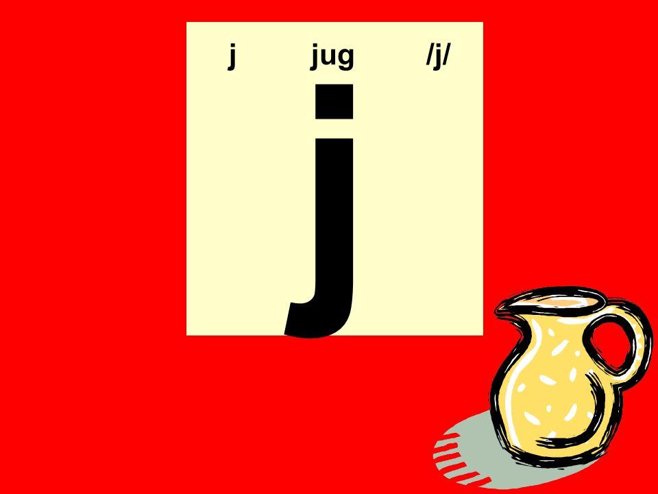 j j jug /j/