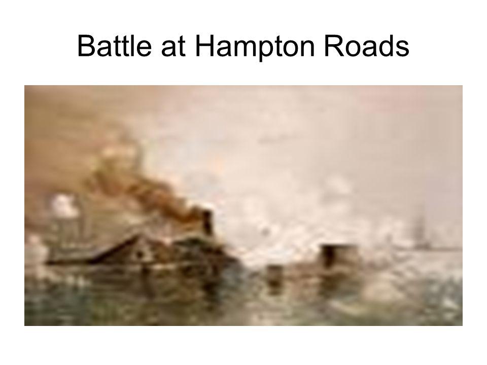 Battle at Hampton Roads