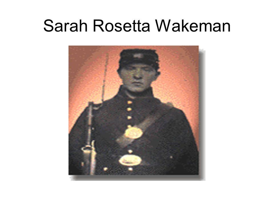 Sarah Rosetta Wakeman