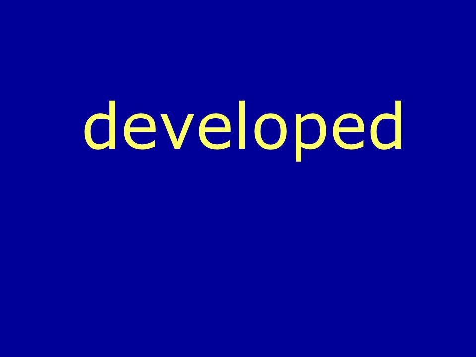 developed