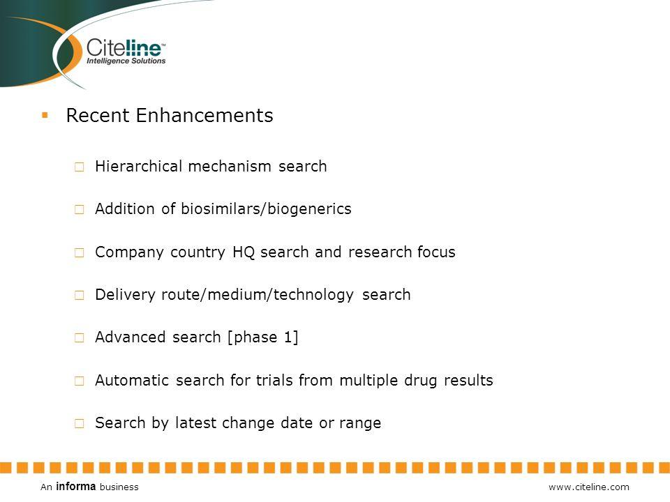 An informa business www.citeline.com Pipeline