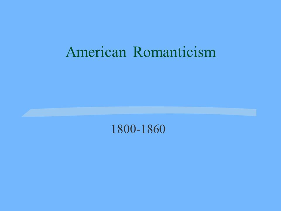 Romanticism Romanticism refers to a movement in art, literature, and music during the 19 th century.
