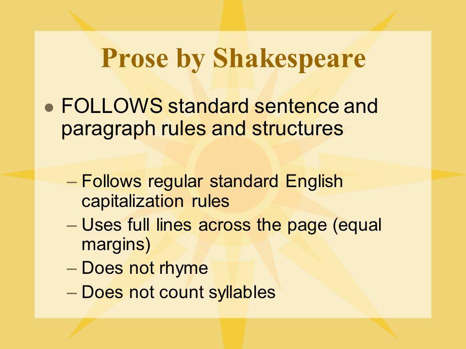 Shakespearian Sonnets ctd.