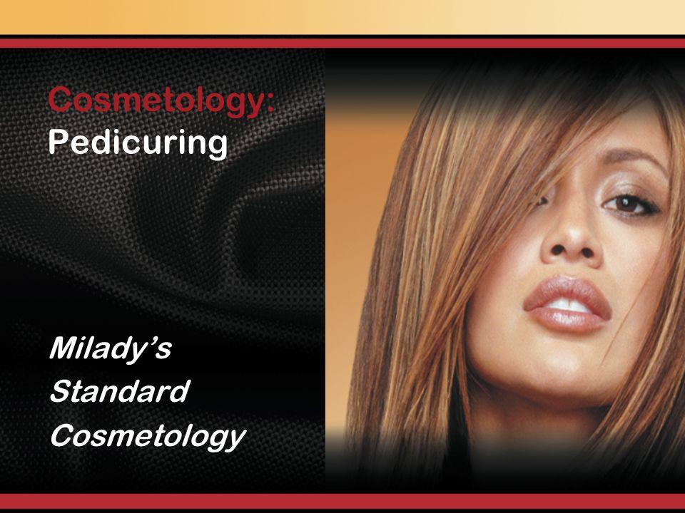 Pedicuring Miladys Standard Cosmetology Cosmetology: