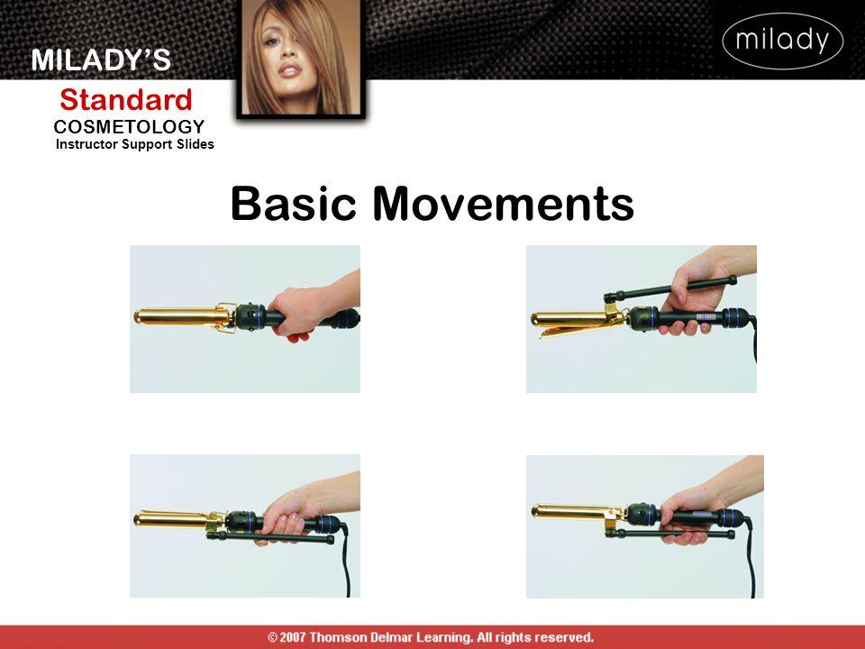 MILADYS Standard Instructor Support Slides COSMETOLOGY Basic Movements