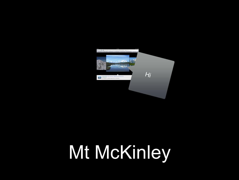 Mt McKinley Hi