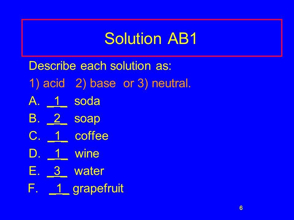 27 Acid Rain Unpolluted rain has a pH of 5.6 Rain with a pH below 5.6 is acid rain CO 2 in the air forms carbonic acid CO 2 + H 2 O H 2 CO 3 Adds to H + of rain H 2 CO 3 H + (aq) + HCO 3 -(aq) Formation of acid rain: 1.