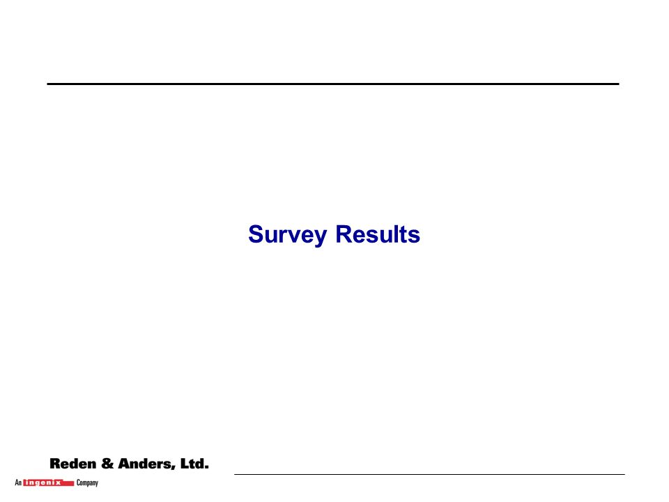10 Survey Methodology u Survey tool was successfully piloted to assess validity of questions.