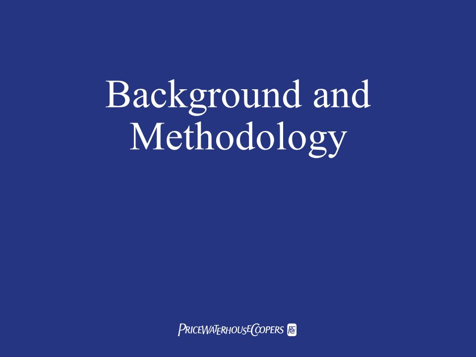 Background and Methodology