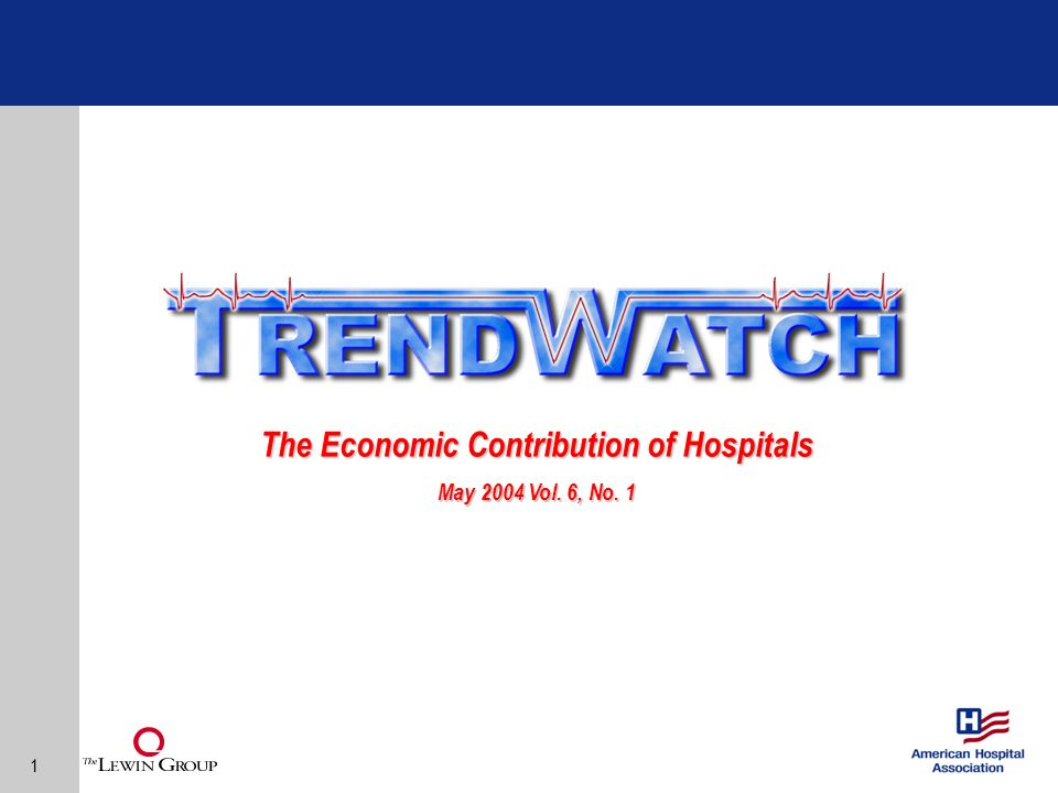 12 Conclusion Hospitals are major contributors to the U.S.