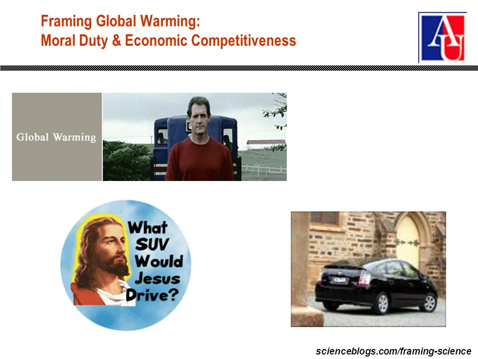 scienceblogs.com/framing-science Framing Global Warming: Moral Duty & Economic Competitiveness
