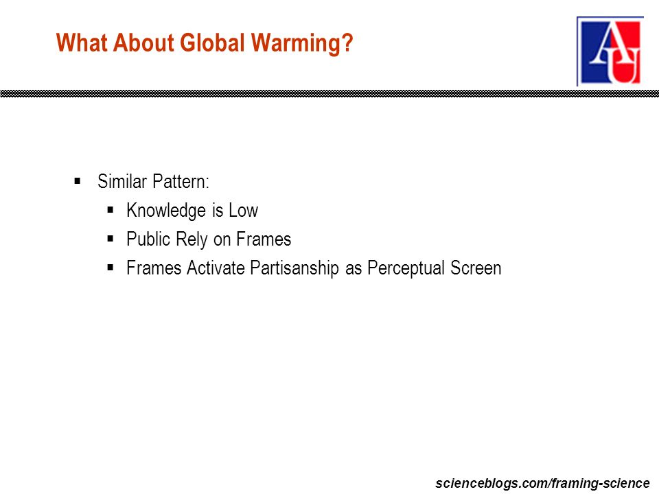 scienceblogs.com/framing-science What About Global Warming.
