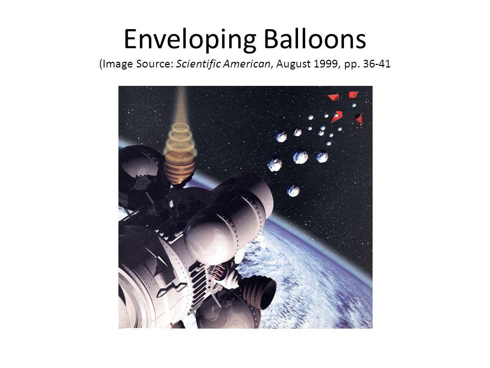 Enveloping Balloons (Image Source: Scientific American, August 1999, pp. 36-41