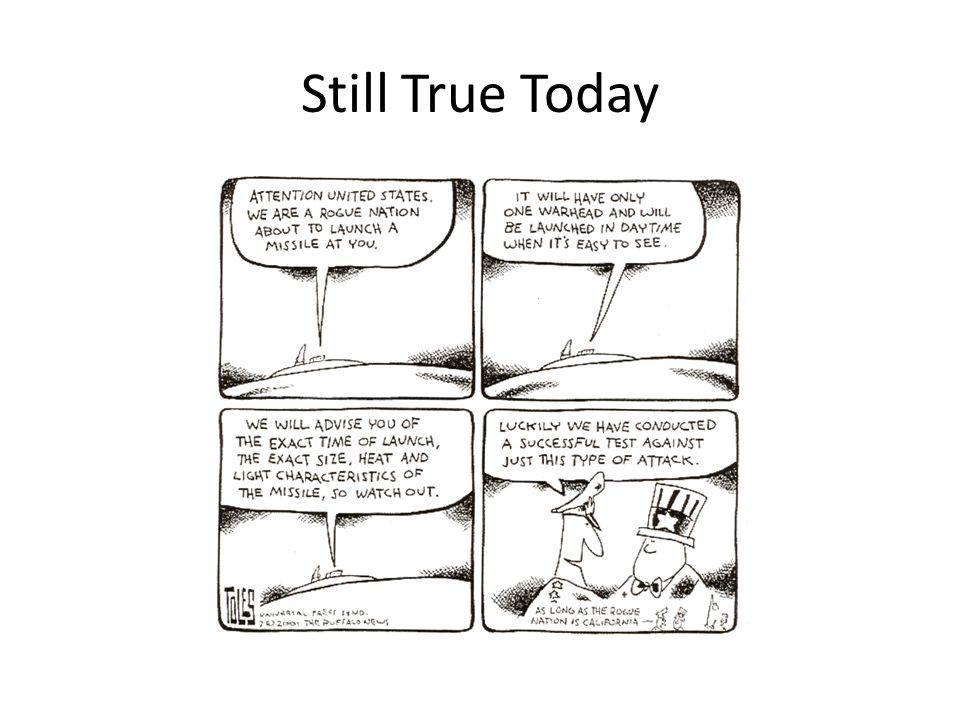 Still True Today