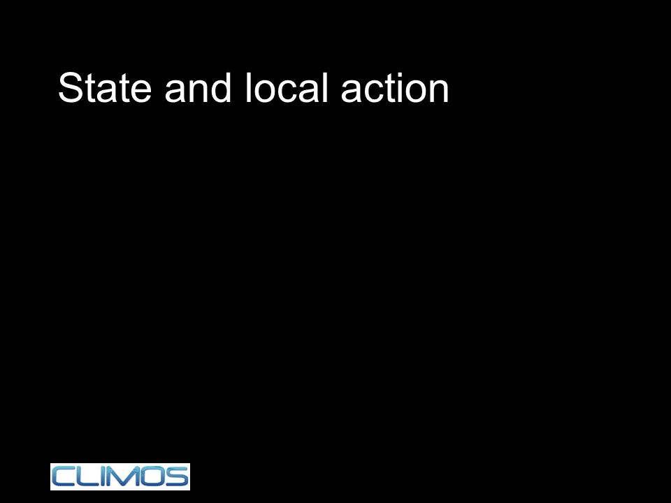 State and local action