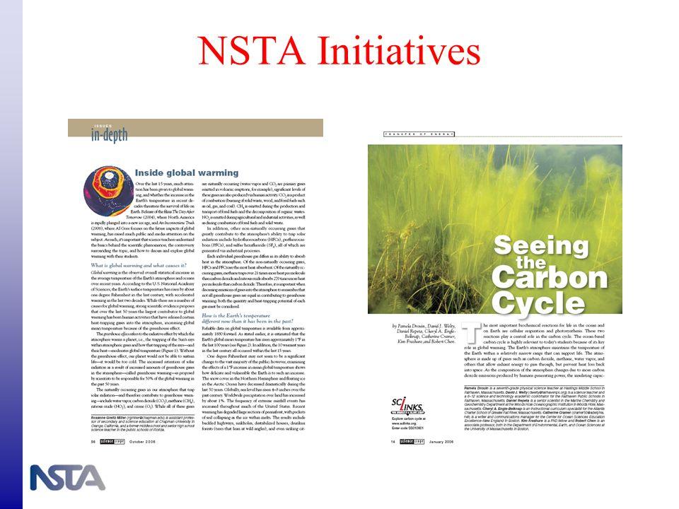 NSTA Initiatives