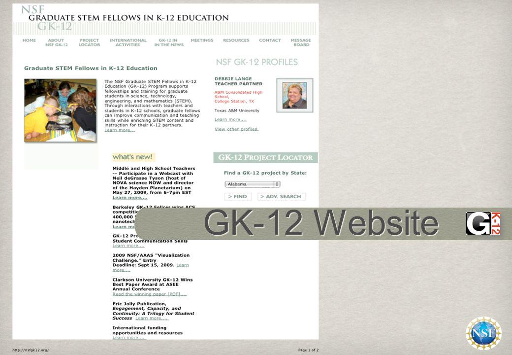 GK-12 Website