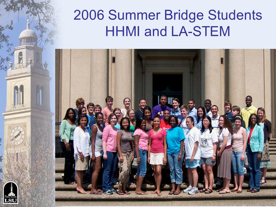 2006 Summer Bridge Students HHMI and LA-STEM