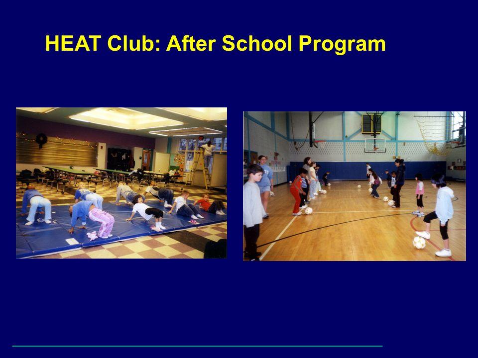 HEAT Club: After School Program