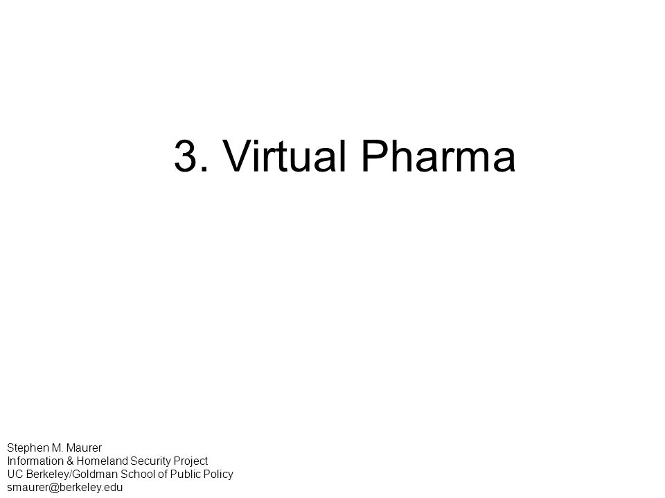 3. Virtual Pharma Stephen M.