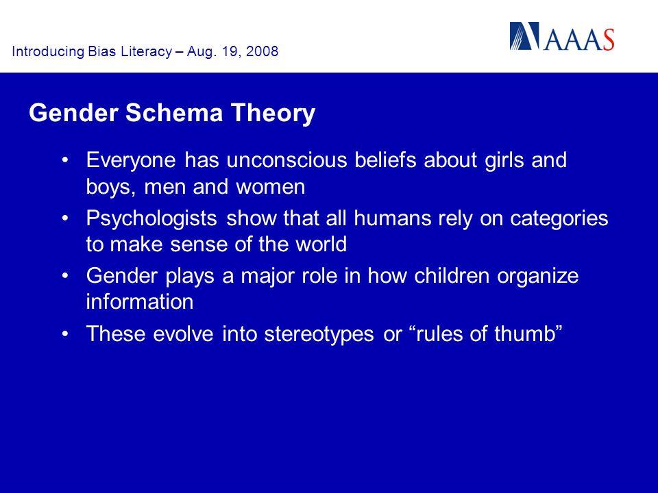 Introducing Bias Literacy – Aug.
