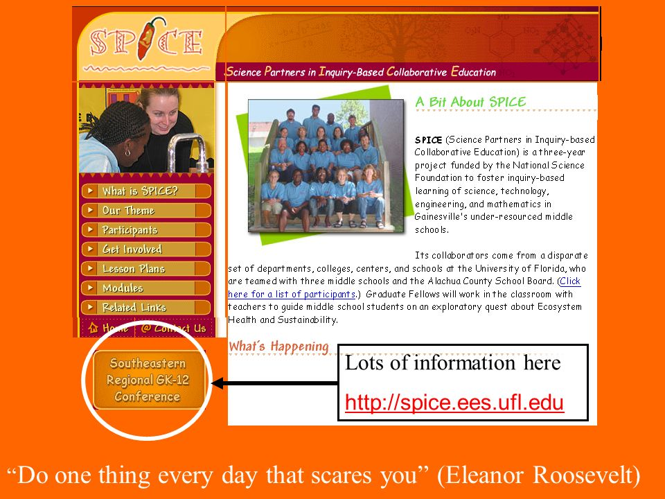 Lots of information here http://spice.ees.ufl.edu Do one thing every day that scares you (Eleanor Roosevelt)