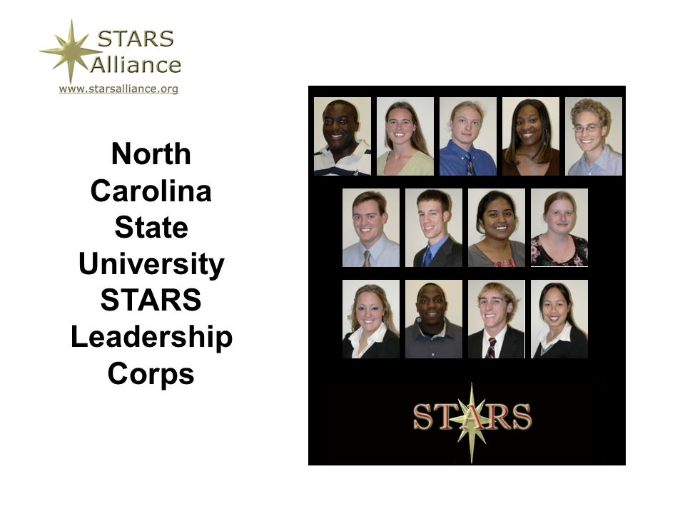 North Carolina State University STARS Leadership Corps