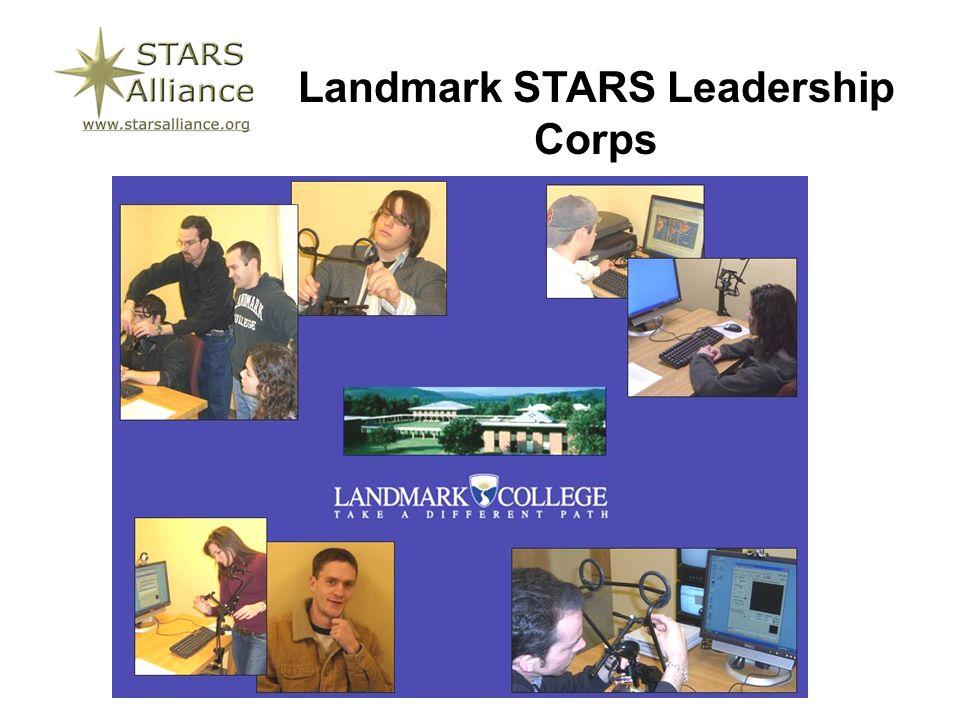 Landmark STARS Leadership Corps