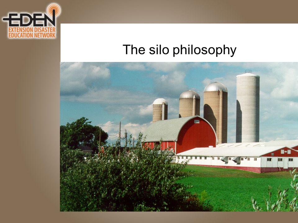 The silo philosophy