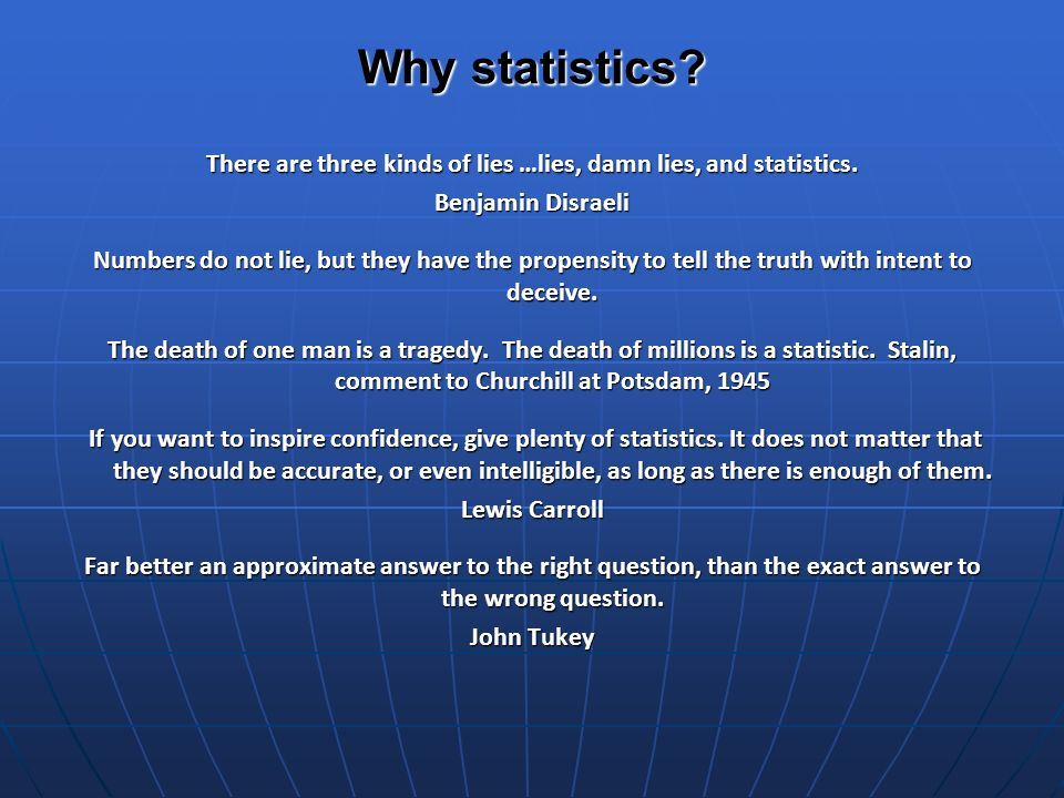 Why use statistics.What can we say and do to help human rights researchers and activists.