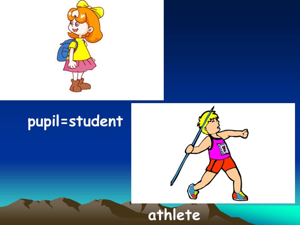 pupil=student athlete