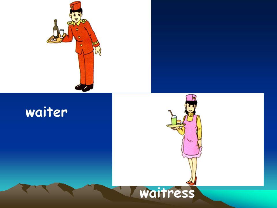 waiter waitress