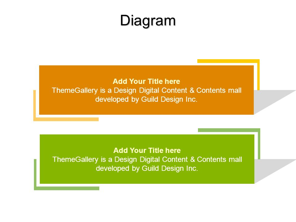 Diagram Add Your Title here ThemeGallery is a Design Digital Content & Contents mall developed by Guild Design Inc.