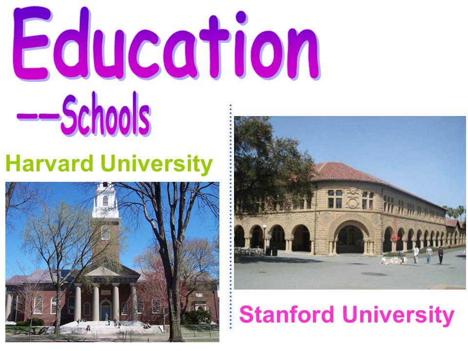 Harvard University Stanford University