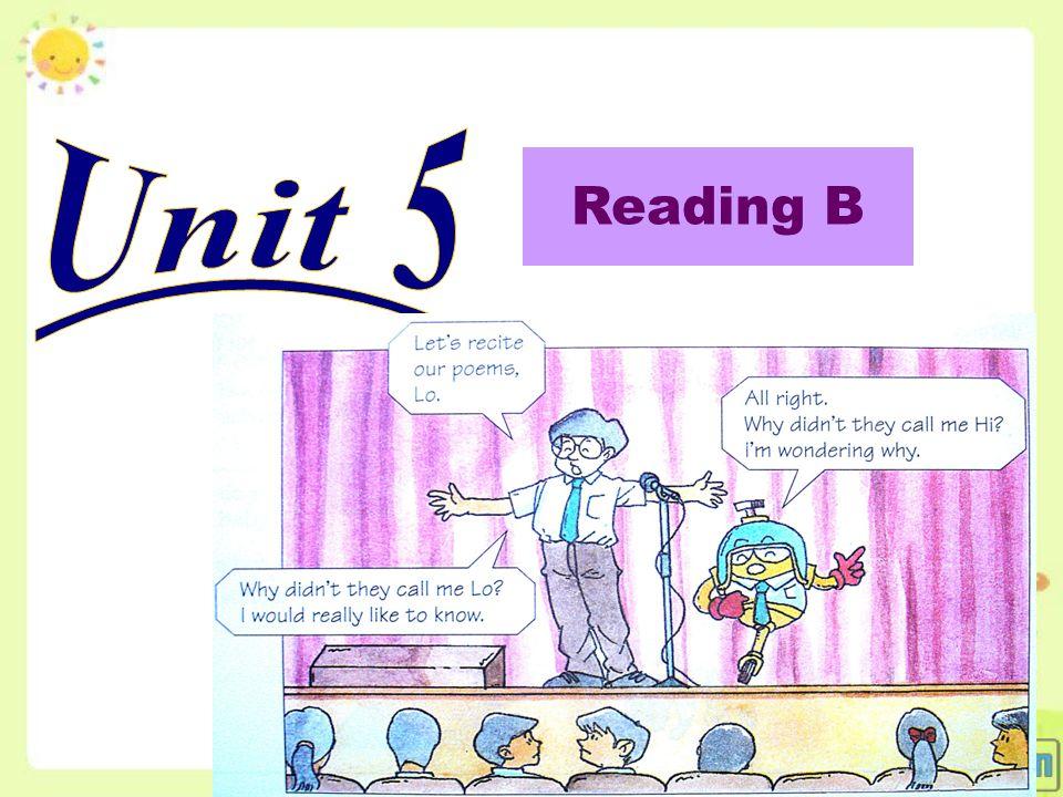 Reading B