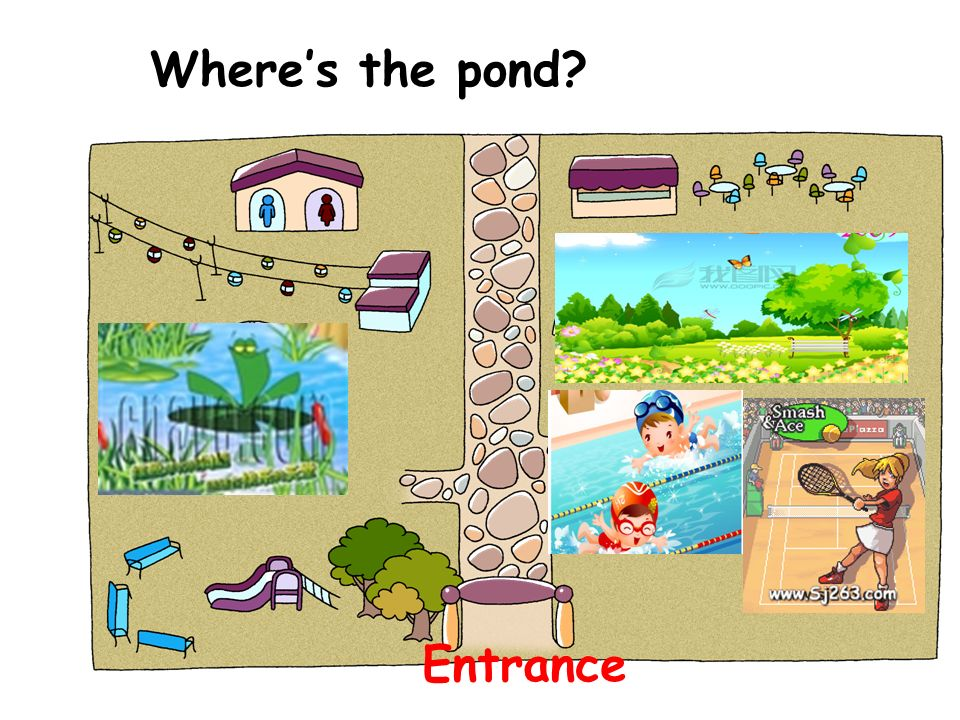 Wheres the pond? Entrance