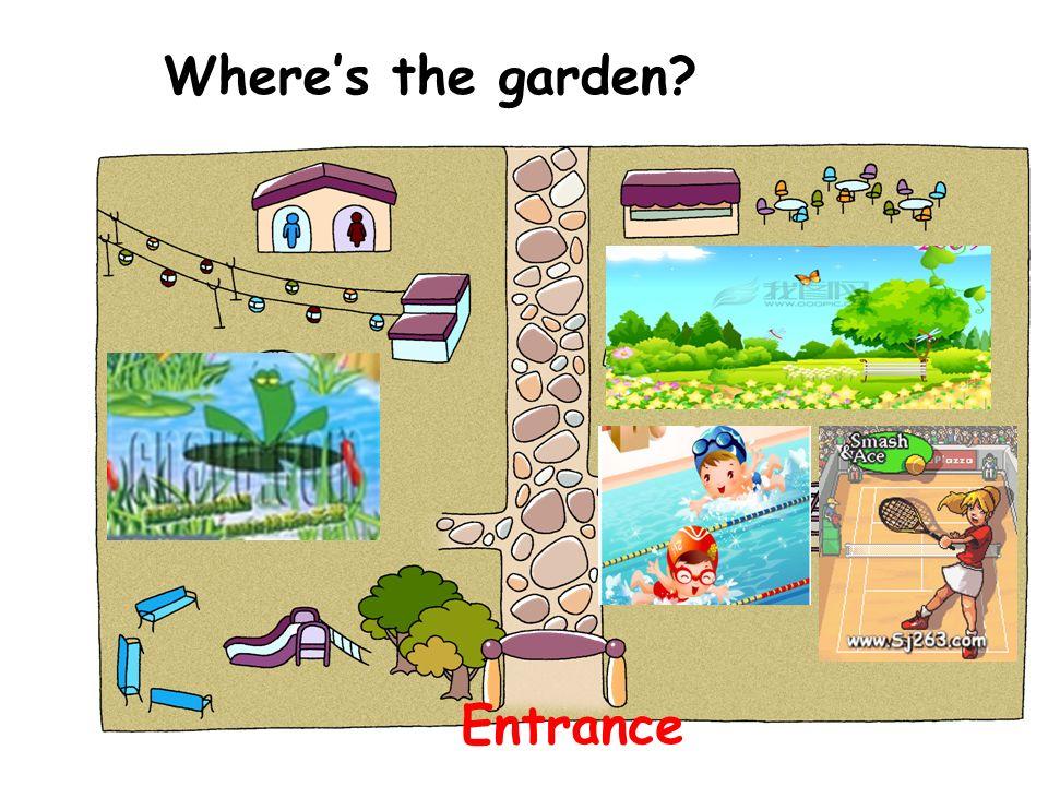 Wheres the garden? Entrance